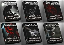 Ultimate Dark Collection - All Rock 1-6 Epic Megapack Bundle Rock WAV Samples!
