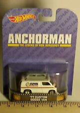 Hot Wheels Retro Series Anchorman The Legend of Ron Burgandy 77 Custom Dodge Van