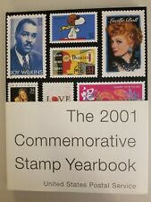 United States Postal Service Commemorative Stamp Year Book From 2001