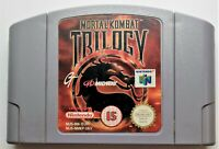 Mortal Kombat Trilogy Video Game for Nintendo N64 PAL TESTED