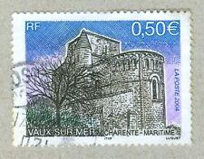 FRENCH POSTAGE - VAUX SUR MER  CHARENTE-MARITIME STAMP 0,50 LA POSTE 2004 FRANCE