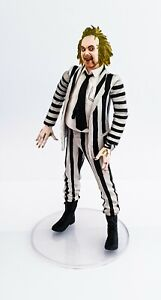 Neca Beetlejuice Action Figure with Clear Base Stand 'It's Showtime' Loose Rare