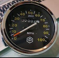 Vespa PX 125 150 200 P200e Mk1 100 MPH Speedo (1977-1983) 80mm Diameter