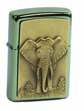 ZIPPO GOLDEN ELEPHANT on stage Limited Edition emblema spiegelbox xxx/500 ELEFANTE