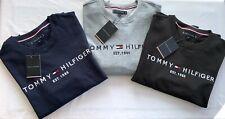 Sweat-shirt Pull Tommy Hilfiger Bleu marine/Gris/Noir