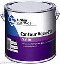 SIGMA  Contour Aqua-PU Satin Acryl-Lack 2,5ltr