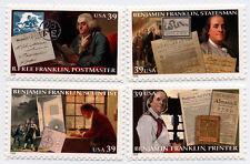 US Scott #4021-4024 Benjamin Franklin SET of 4 MNH ***FREE SHIP***