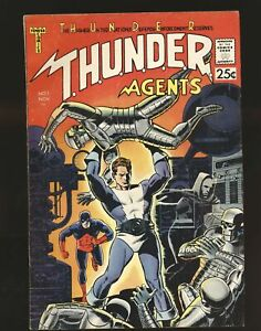Thunder Agents # 1 - Origin & 1st appearance Fine Cond.
