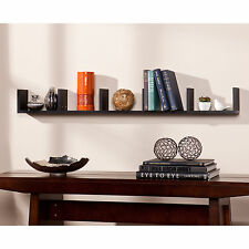 JWS39543 BLACK WALL MOUNT SHELF