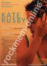 Kate Rusby Underneath The Stars LP Tour Advert