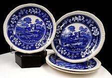 """6-3//8/"""" SPODE china TOWER BLUE older stamp Bread Plate"""