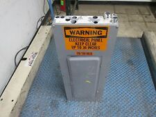 Square D Main Breaker Circuit Breaker Panel 200A Main 3Ph 40 Circuit Used