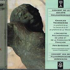CD album: Charles Tournemire: symphonies. Pierre Bartholomée. adda 2CDs. A