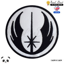 STAR WARS Jedi Order Logo Embroidered Iron On Sew On Patch Badge For Clothe etc