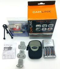 Camlink Viaje Kit de Cámara Universal 6 en 1 Cargador/limpieza/Trípode/Estuche/celular