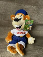 More details for kelloggs cereal coco the monkey 20cm soft plush toy coco pops advertising 2004