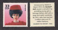 1961 Mattel Jackie Kennedy Barbie Doll - U.S. Postage Stamp - Mint Condition