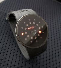 01 The One Watch - Model SLR202R3 - Slim Round Black IP Red LED