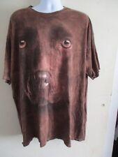 Chocolate Lab  T-Shirt Size Men's Size 4XL.