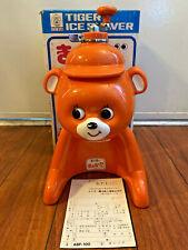 TIGER CORPORATION Ice Shaver Kyoro Chan Bear Kakigori Orange ABF-100 Retro RARE!