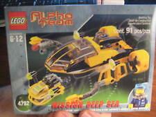 LEGO Alpha Team: Mission Deep Sea AT Navigator and ROV 4792 NIB