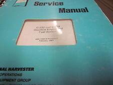 International C-232 C-258 Gasoline Engine & Fuel System Service Manual