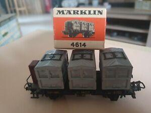 Wagon porte container MARKLIN HO réf. : 4614