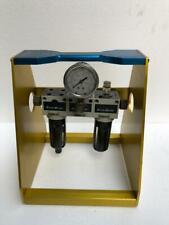 MOUNTZ Flexiblock Frl Filtro Regulador Lubricador con Soporte
