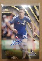 Gary Cahill 2015-16 Topps Premier League Gold Autograph Card Auto