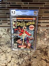 MARVEL SPOTLIGHT #32  CGC 9.2 1977  1st app Spider-Woman Drew Bronze Age Key