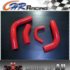 for Toyota Landcruiser 80 SERIES 3F silicone radiator hose red