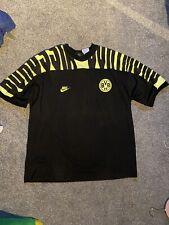 1994 Dortmund Nike Training Football Shirt Very Rare Size Large Bundesliga