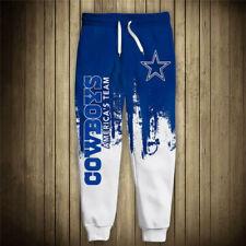 DALLAS COWBOYS Men's Sweatpants Pants Polyester S-6XL Football Team Fans Logo