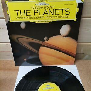 DG 2532 019 Holst The Planets Karajan 1981 West Germany Digital Vinyl