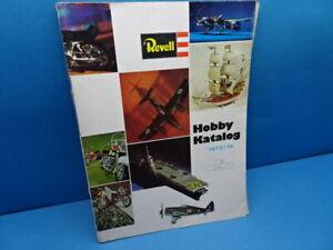 """Revell-Katalog (1973/74): Revell-Modelle 1973/74 """" (63 Seiten in Farbe)"""