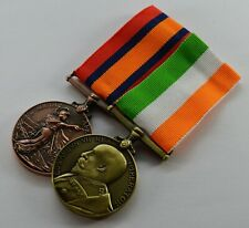 Superb Pair King and Queen's South Africa War Medals. Victoria, Edward VII Boer