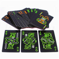 US Deck of Poker Playing Cards Glow In The Dark Fluorescent Luminous