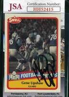 Gene Upshaw 1989 Swell JSA Coa Autograph Authentic Hand Signed