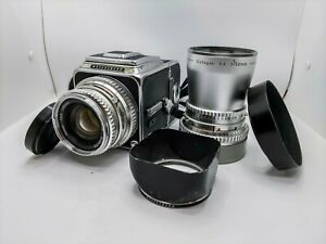 Hasselblad 500cm Planar 80mm + Distagon 50mm f4 + Many original accessories