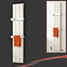 "280mm(w) x 1600mm(h) ""Thor"" Latte Aluminium Vertical Slimline Radiator"
