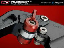 Titax Lever Adjuster Set (Red) - Both Levers