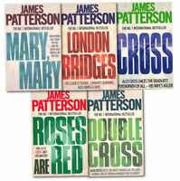 James Patterson Alex Cross Series Collection 5 Books Set Pack Cross, Mary, Mary