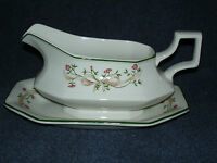 Johnson Bros. - Eternal Beau - Gravy Sauce Boat and Tray
