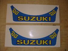 VINTAGE MOTOCROSS Set of Two DG Suzuki Helmet Visor Decals AHRMA CR KX YZ RM