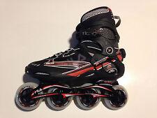 Fila Primo XT Men Herren Fitness Inline Skates Gr. 43,5 Skate schwarz/rot