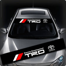 TRD Windows / Windshield Car Sticker Decal FD0009 135x22CM For Toyota