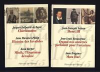 Lot 2 livres Mémoire de l'Histoire Sélection du Reader's Digest 2002-2003