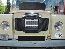 Land Rover Series 3 Radiator Muff / Radiator Grille Cover DA2160BLACK