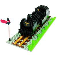 NANOBLOCK Steam Train Locomotive Nano Block Micro-Sized Building Blocks NBM-001