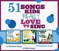 Kids Choir : 51 Songs Kids Really Love to Sing CD